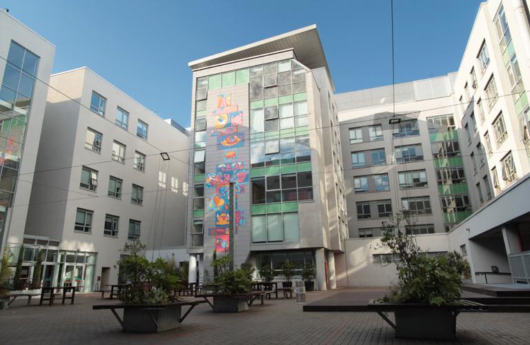 IFSC City Residence Courtyard