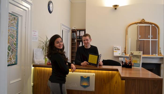 Students at Horner School of English Dublin
